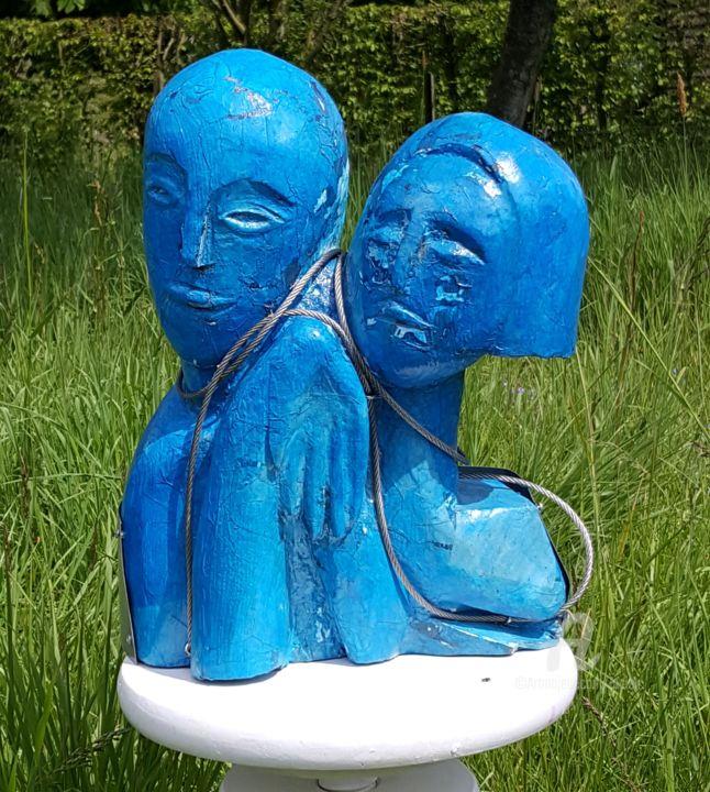 Couple bleu